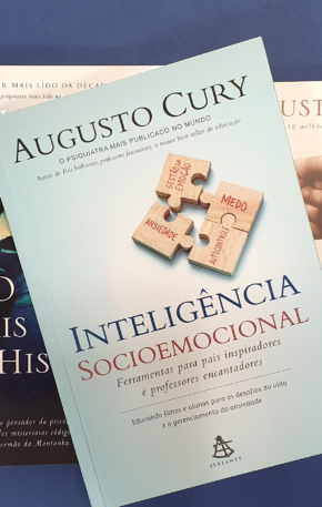 Concorra a 5 livros do Augusto Cury (encerrado)