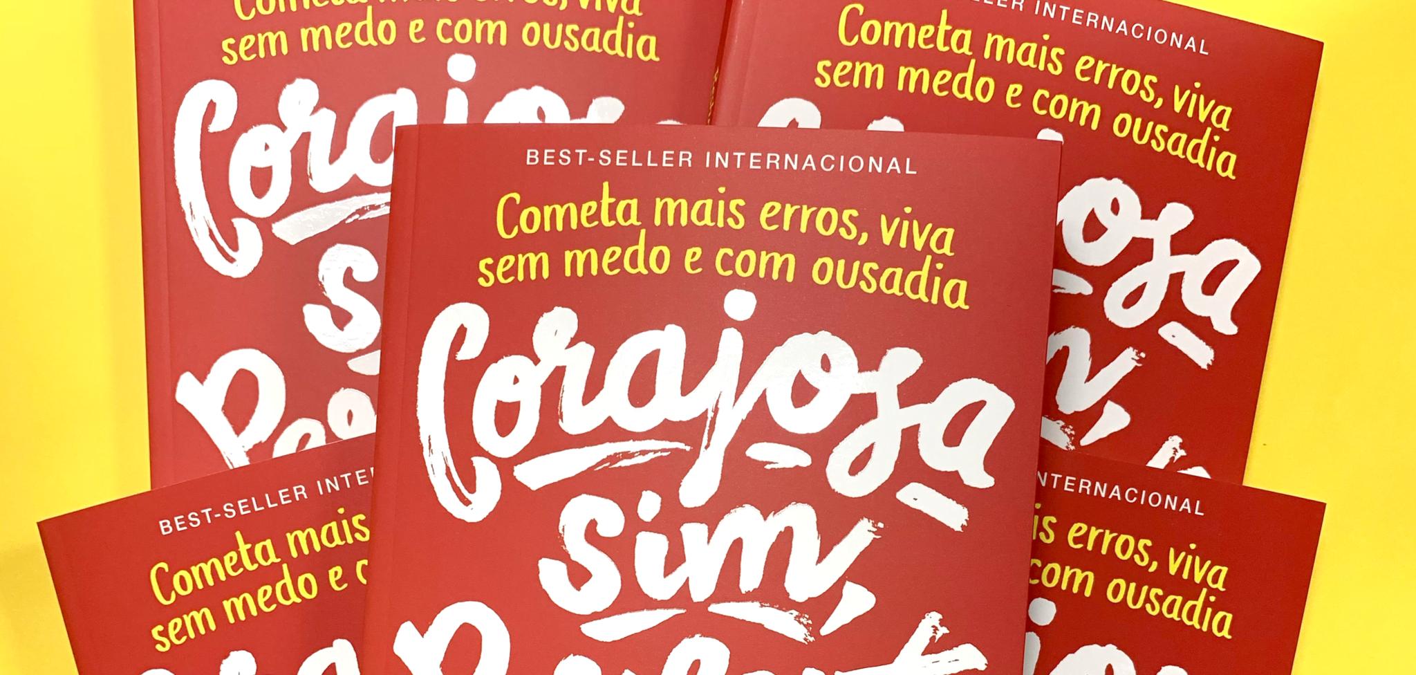 """Concorra ao livro """"Corajosa sim, perfeita não"""", de Reshma Saujani (encerrado)"""