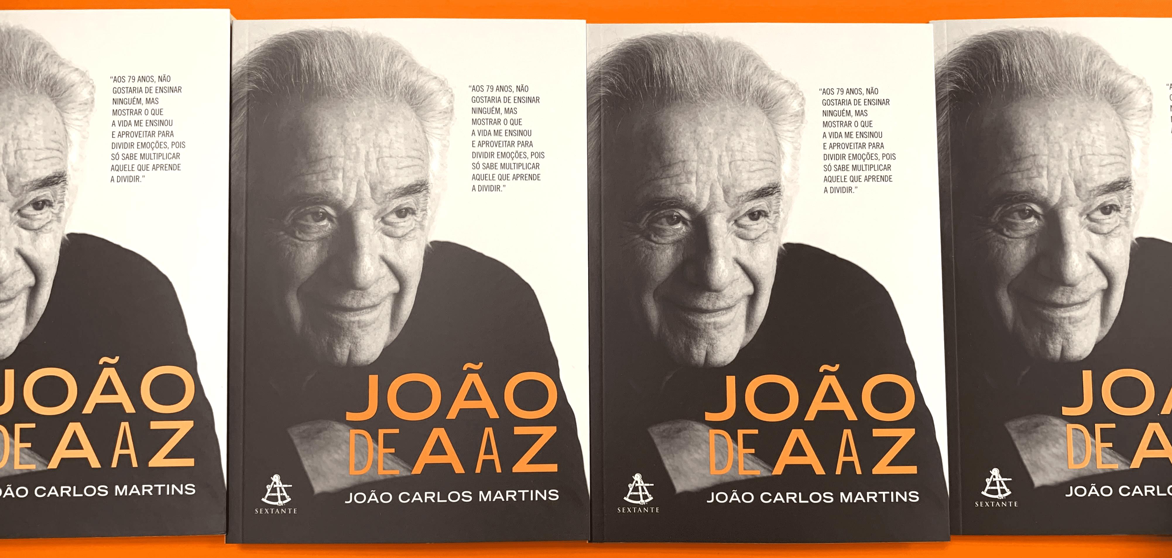 """Concorra ao livro """"João de A a Z"""" do maestro João Carlos Martins (encerrado)"""