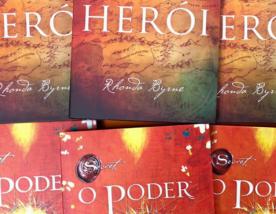 """Concorra aos livros """"O poder"""" e """"Herói"""" de Rhonda Byrne (encerrado)"""