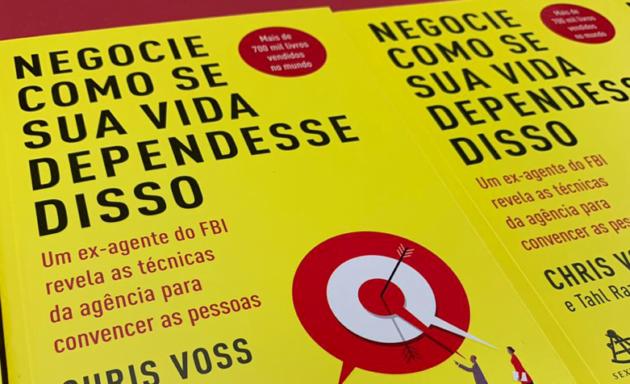 """Concorra ao livro """"Negocie como se sua vida dependesse disso"""" (encerrado)"""